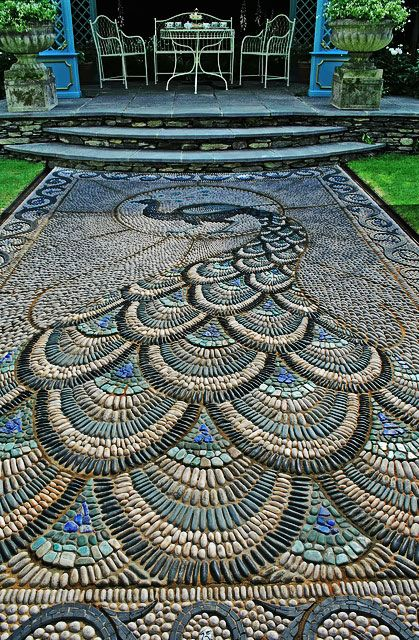 17 Best 1000 images about Pebble Mosaics on Pinterest Gardens