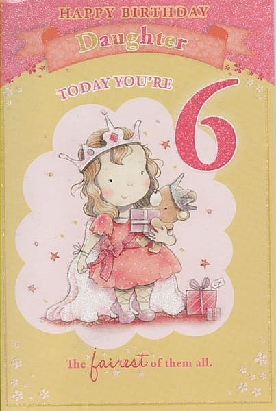Birthday Cards Female Relation Birthday Cards Daughters Age Cards