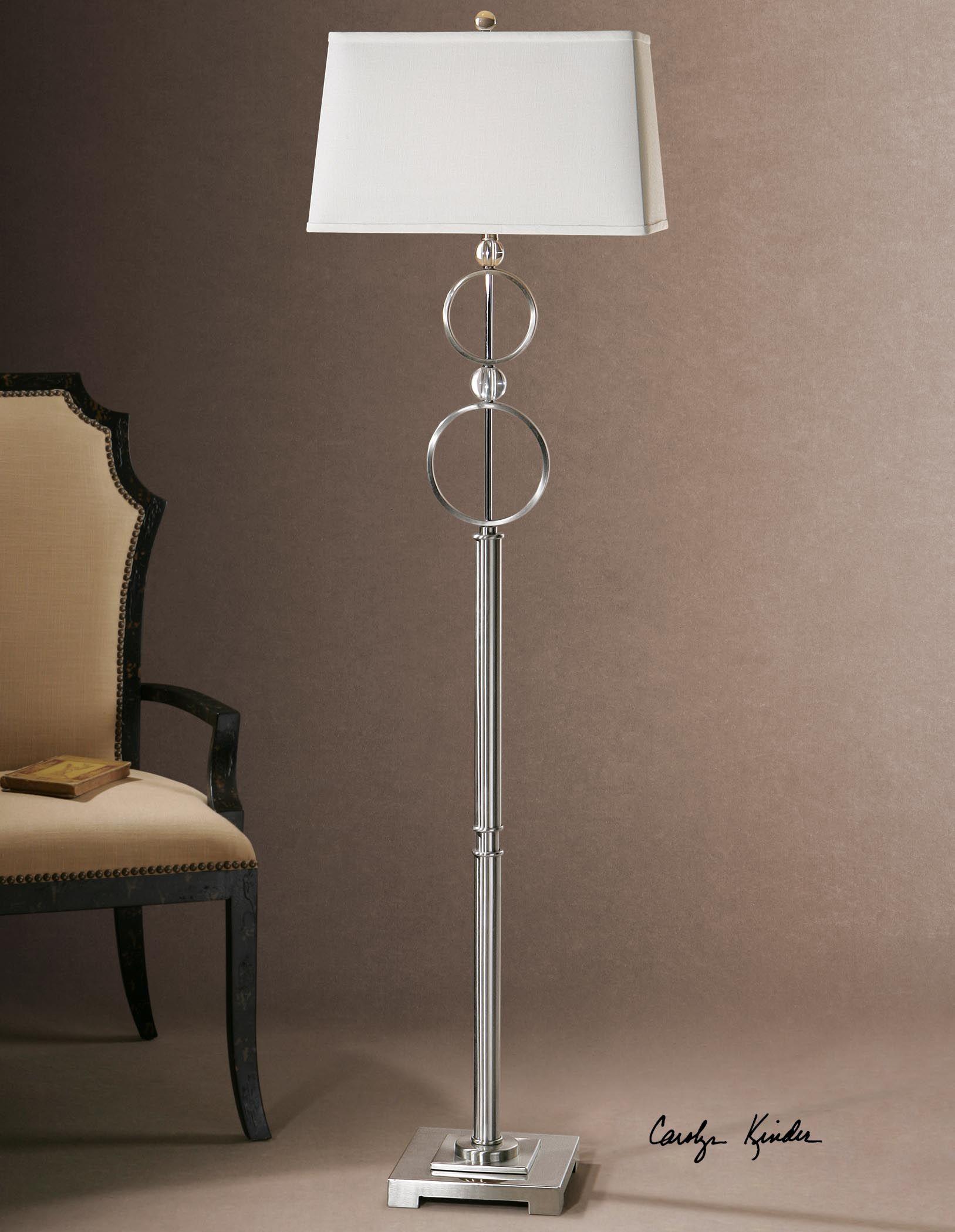 Uttermost Rainier Modern Floor Lamp