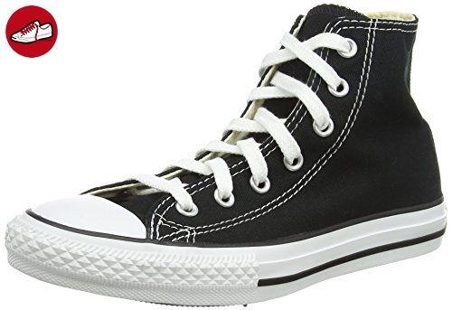 Converse Chuck Taylor All Star, Unisex-Kinder Sneakers, Schwarz (Black), 28 EU