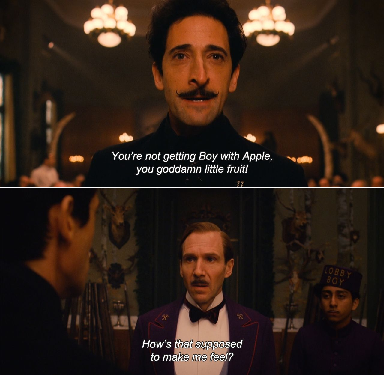 Anamorphosis and Isolate Movies, Wes anderson movies