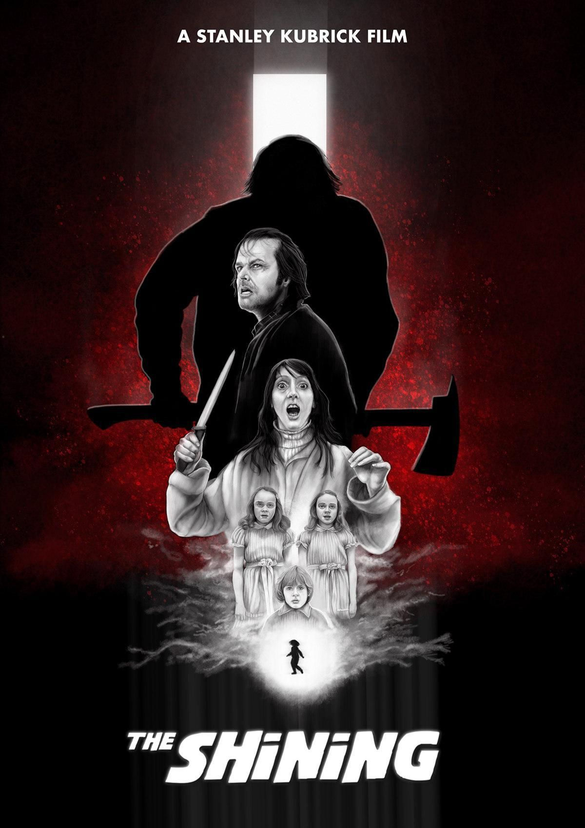 The Shining 1980 1200 X 1700 By Wes Dance Terror Movies The Shining Horror Movie Art