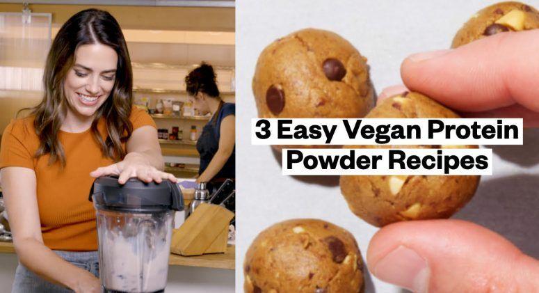 3 easy vegan protein powder recipes protein powder
