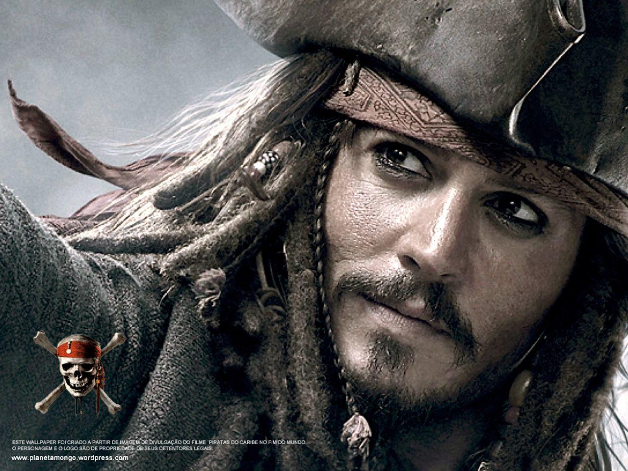 Piratas Del Caribe, Capitán Jack Sparrow, Johnny