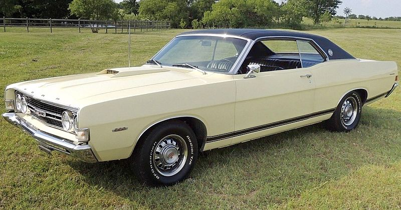 1968 Ford Torino Gt With Factory 390 V8 With Images Ford