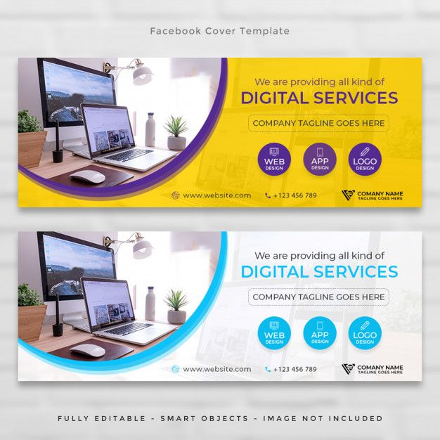 Facebook corporate agency timeline cover...   Premium Psd #Freepik #psd #banner #business #cover #technology