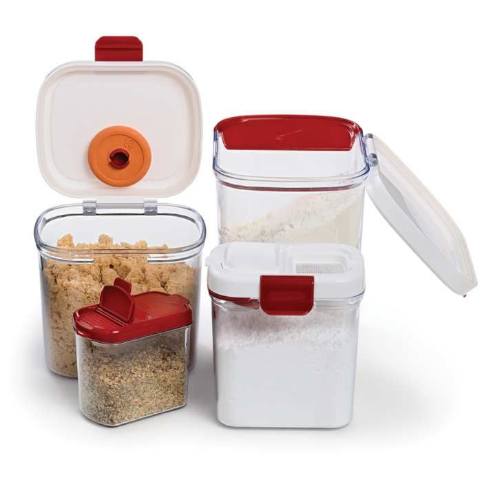 Progressive Containers   Just Ordered The Flour, Sugar, U0026 Brown Sugar  Containers. No