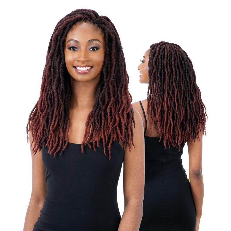"Freetress 2X Crochet Braid Hair BO LOC 14"" Braided"