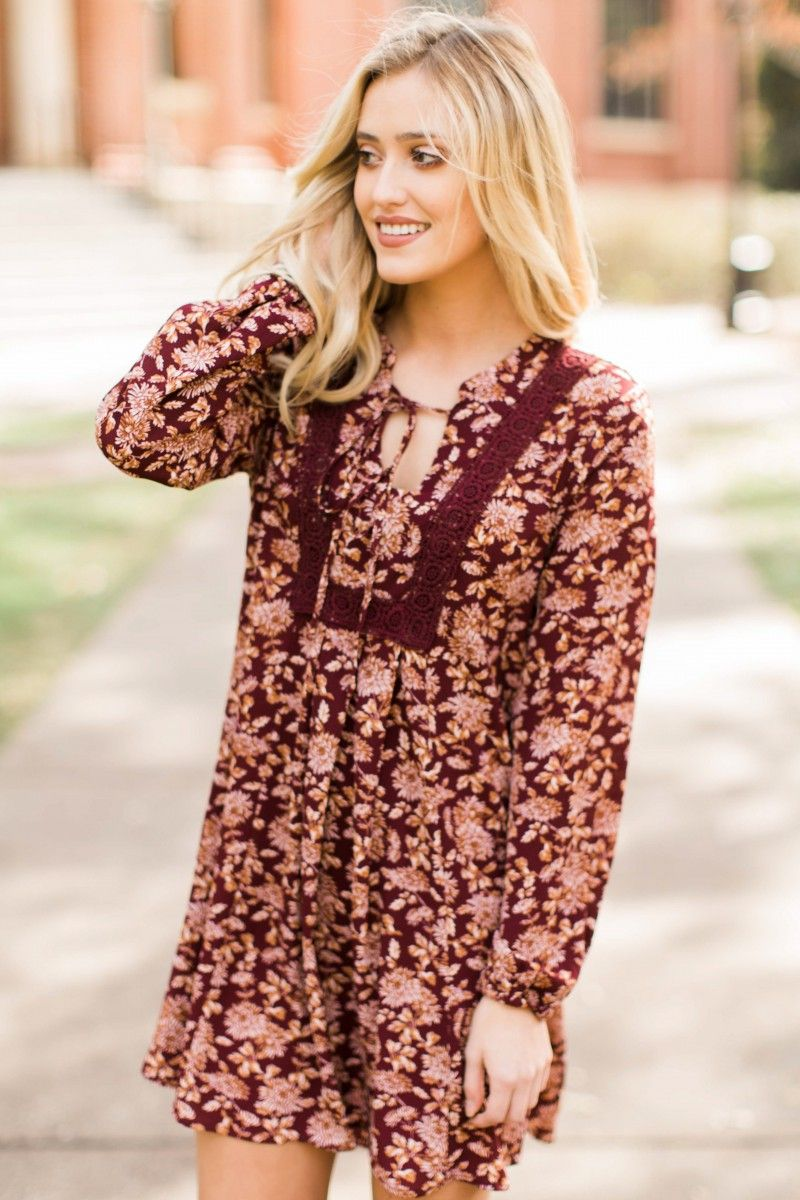 Fluttering heart burgundy and gold dress at reddressboutique