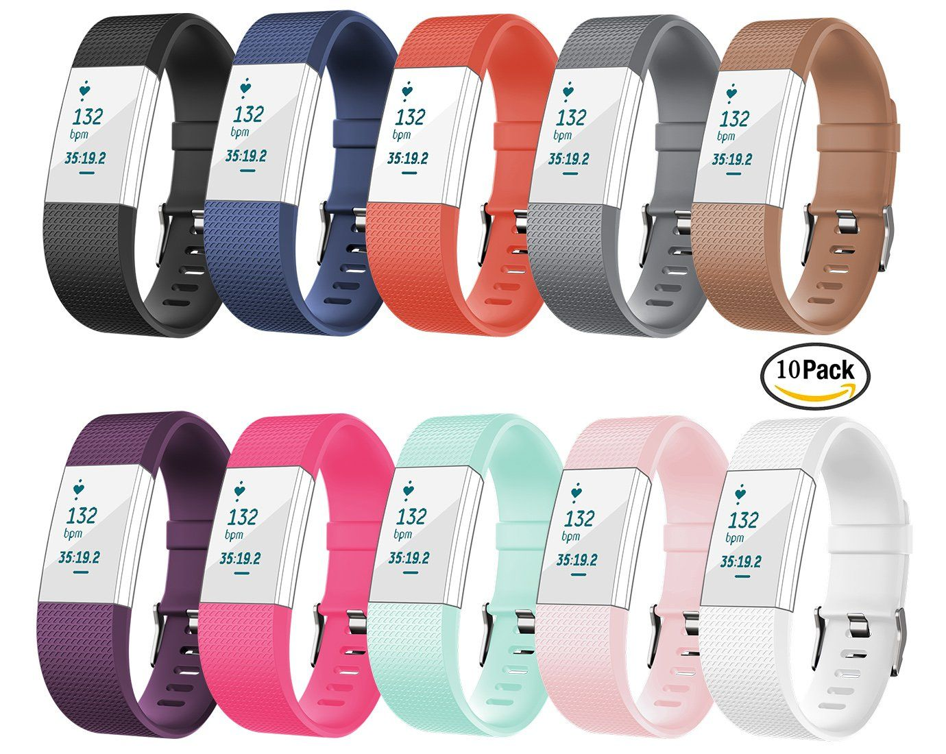 Image result for Fitbit charge 2 vs charge 3f