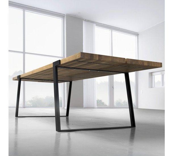 Rustic spisebord - Spisebord i olieret vildeg