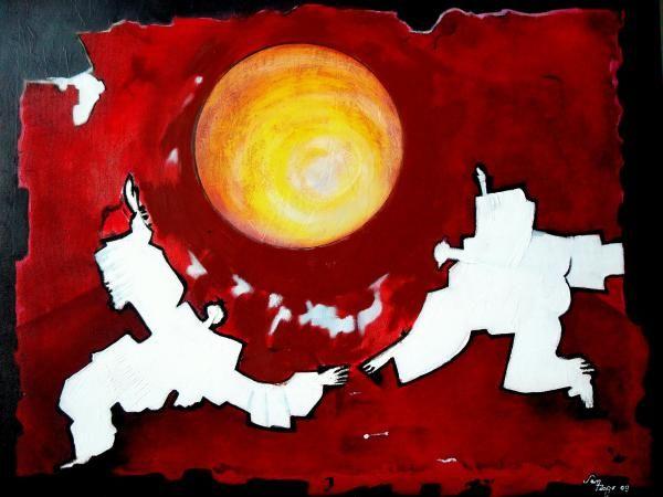 Back To Energy Painting (Adalardo Nunciato Santiago)