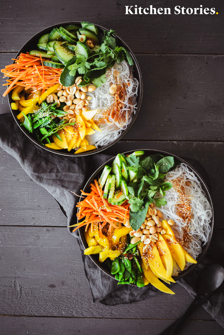 Photo of Vietnamese style glass noodle salad Recipe with video