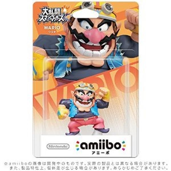 Nintendo / Amiibo Wario (Super Smash Brothers series) / Nintendo Video Game F/S #Nintendo