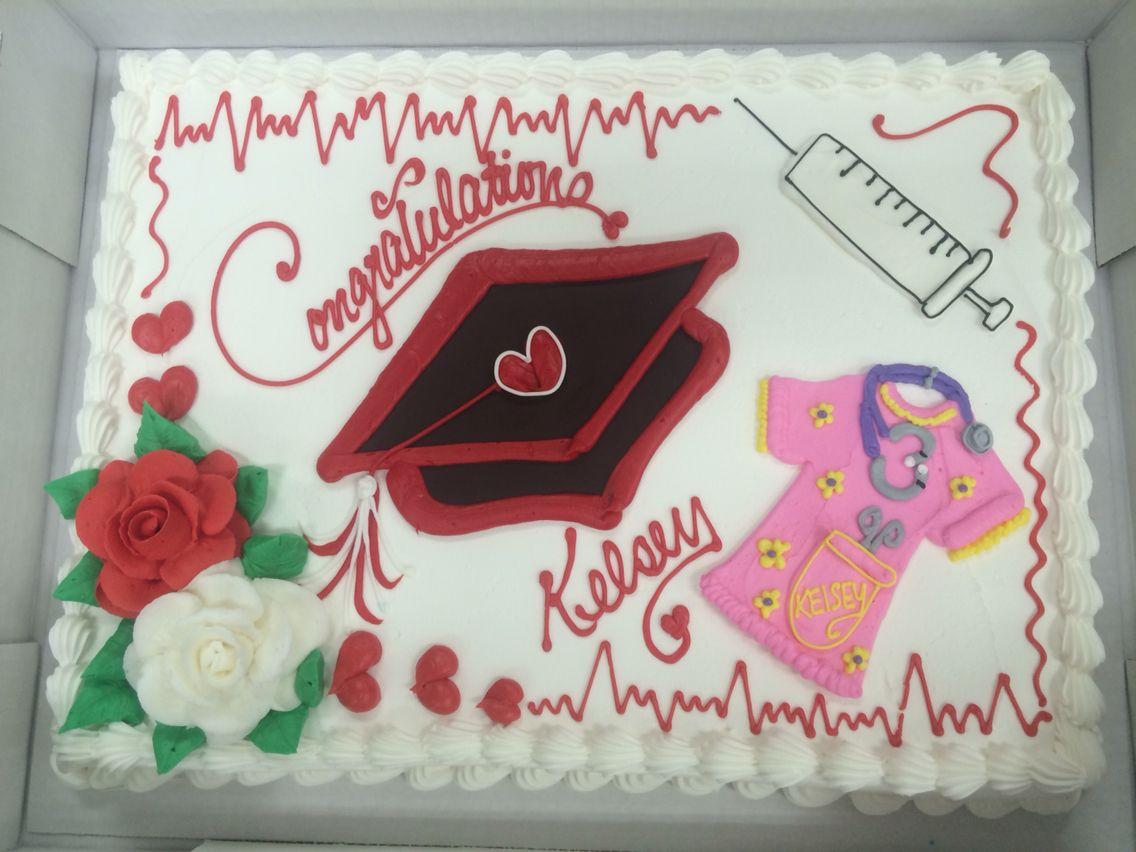 Nurse Graduation Cake Cakes