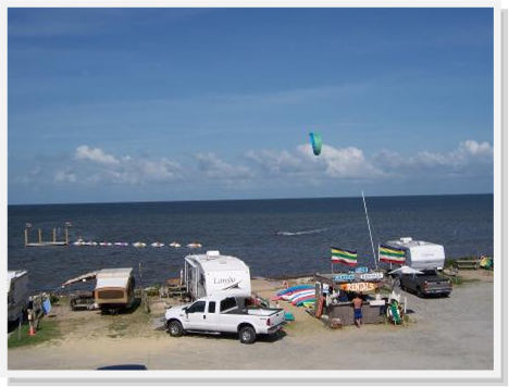 Enjoy Beautiful Sound Side Campsites At Rodanthe Watersports And Campground
