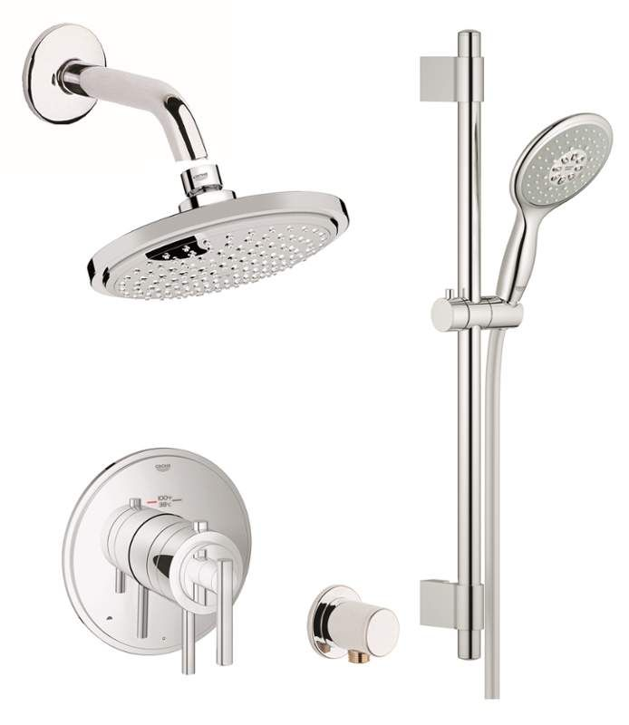 Grohe Gss Atrio Dth 03 With Images Shower Systems Shower