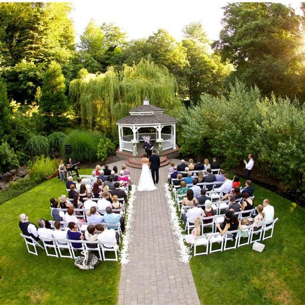 Beautiful Outdoor Wedding Ideas: Venue Idea: Abernethy Center In Oregon City, Ore. This One