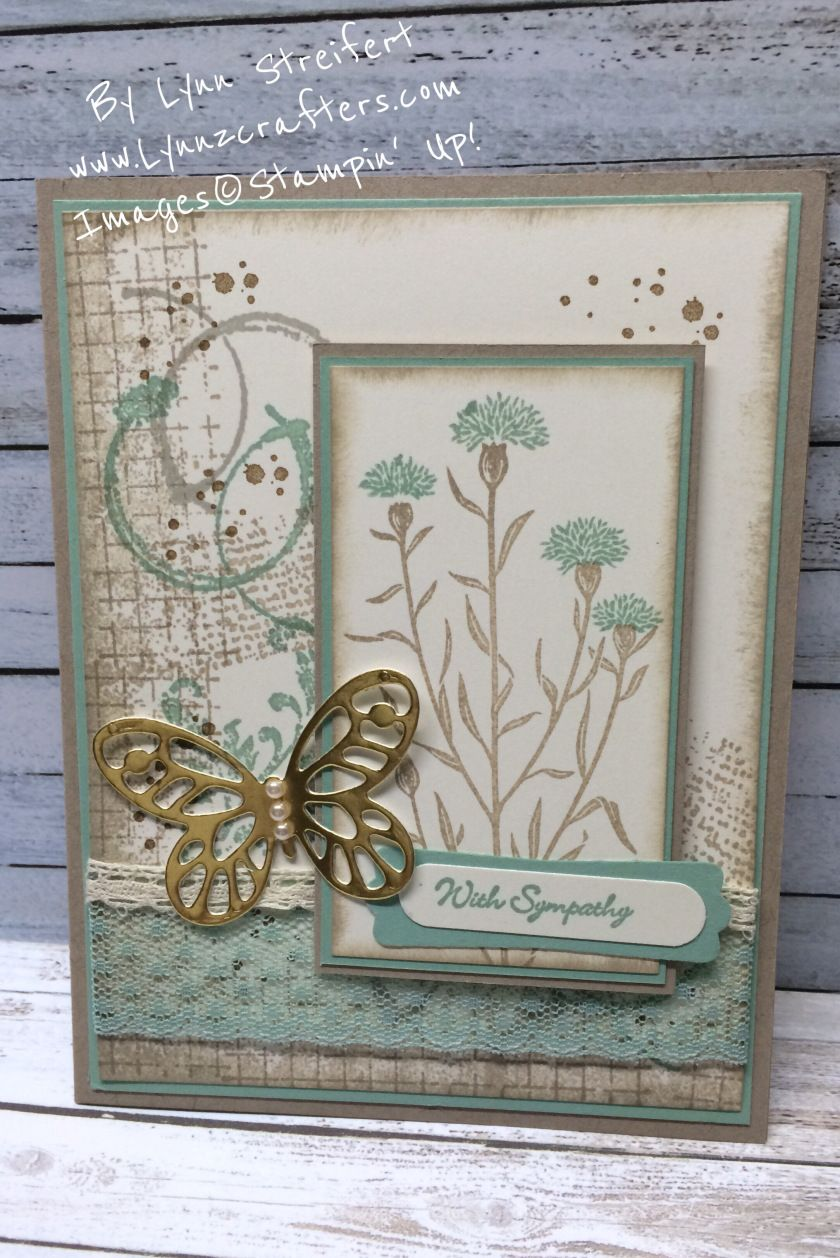 Stampin Friends May Hop Sympathy/Thinking of You | Lynnzcrafters