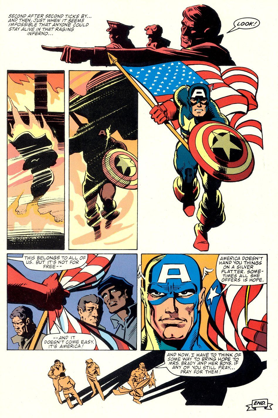 Captain America S 10 Most Patriotic Moments Giving Speeches