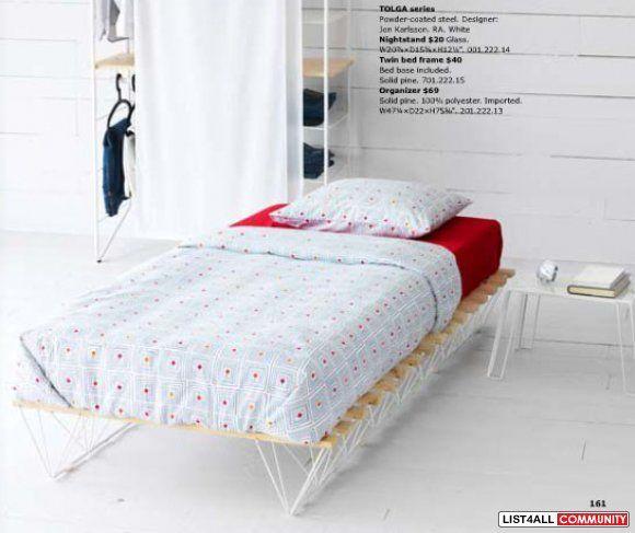 Ikea tolga bed frame | home | Pinterest | Ikea bedroom design, Ikea ...