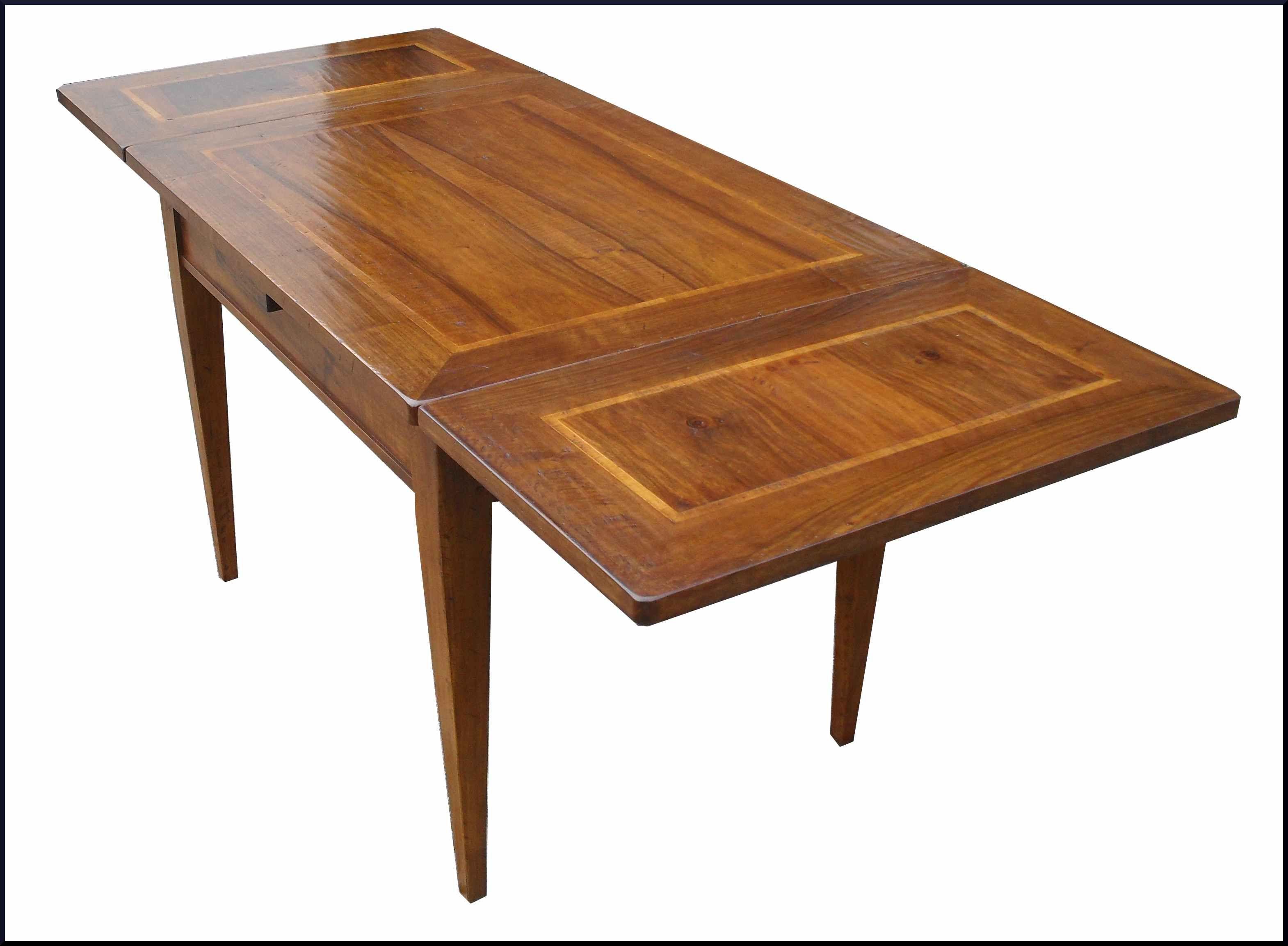 Tavolo Scandola ~ Tavolo in noce lastronato e piallato a vecchio tavoli classici