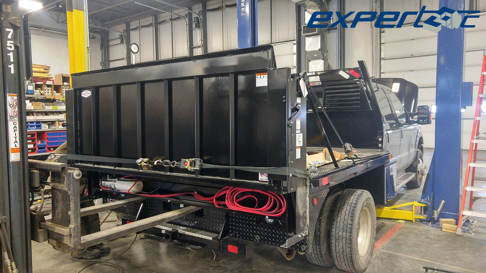 Installing a Tommy Gate® Liftgate on a Bedrock Truck Beds