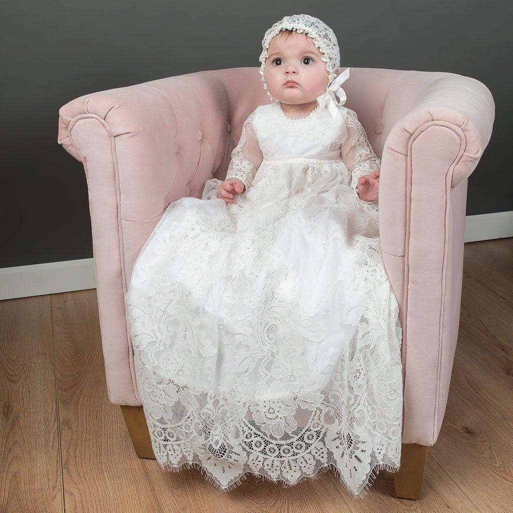 Victoria Christening Gown & Bonnet