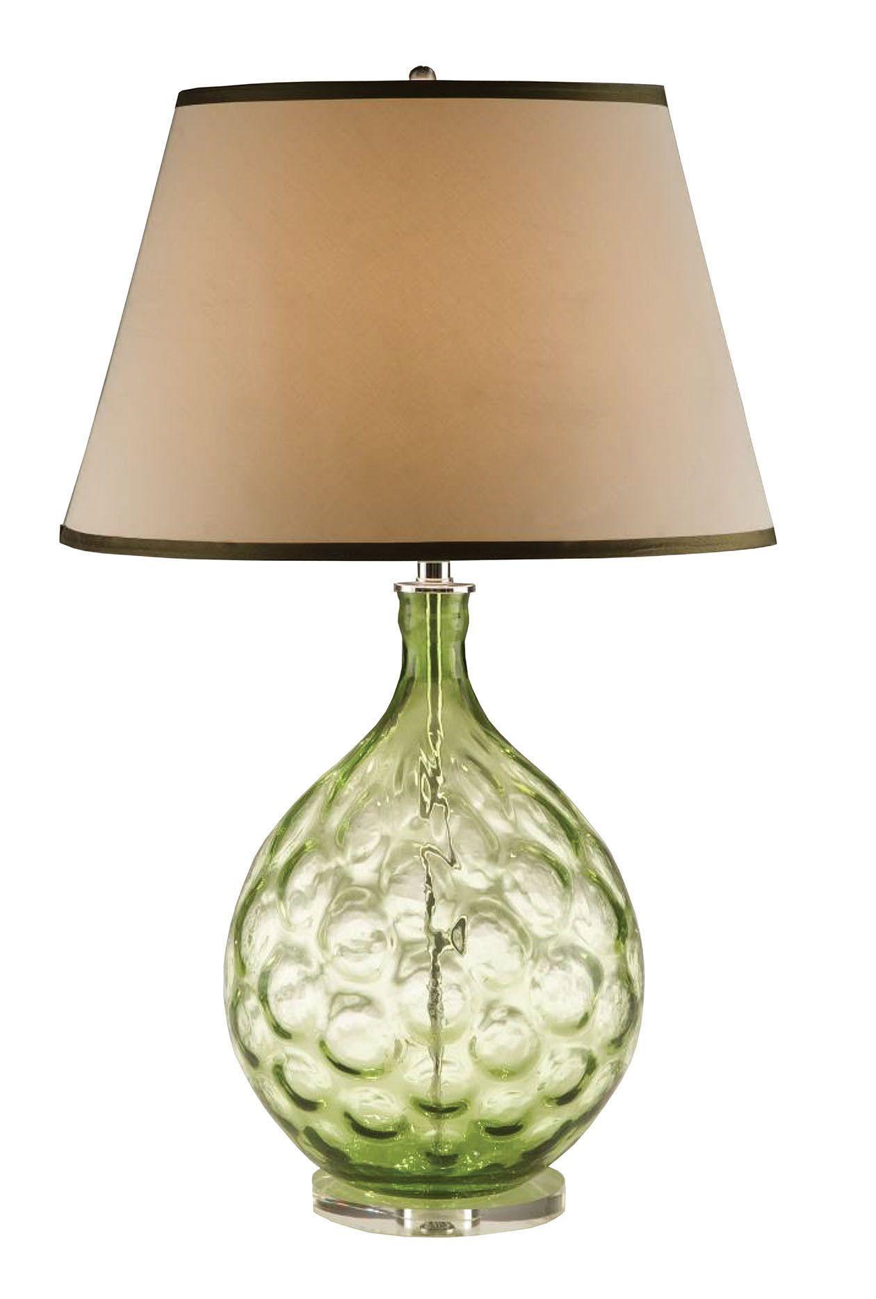 "Hawridge Thumb Print Glass LED 30"" Table Lamp"