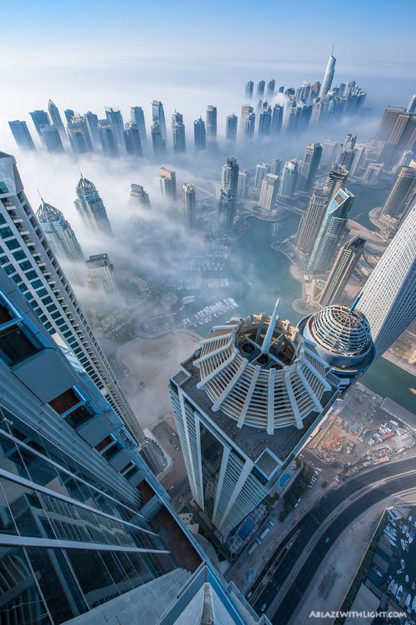 28 dizzying photos from the top of