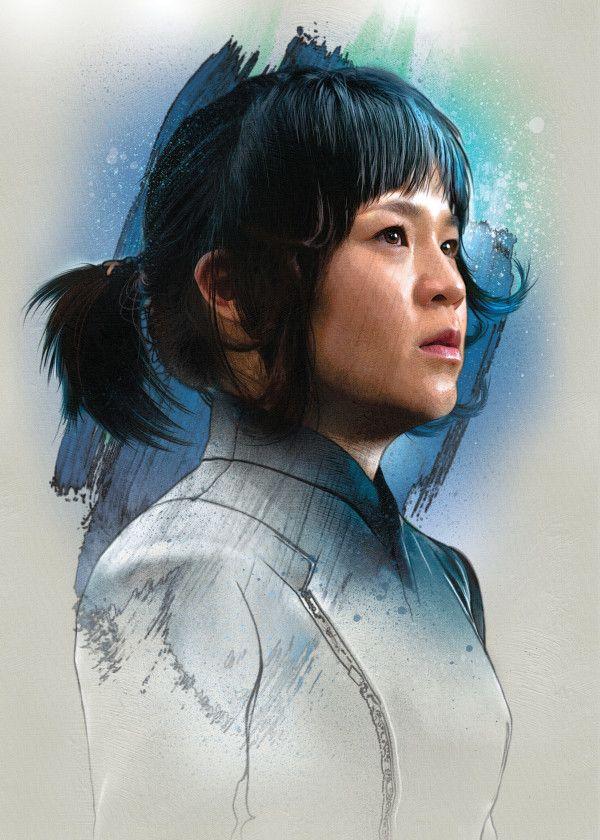 "Official Star Wars The Last Jedi Character Portraits Rose #Displate explore Pinterest""> #Displate artwork… | Displate thumbnail"
