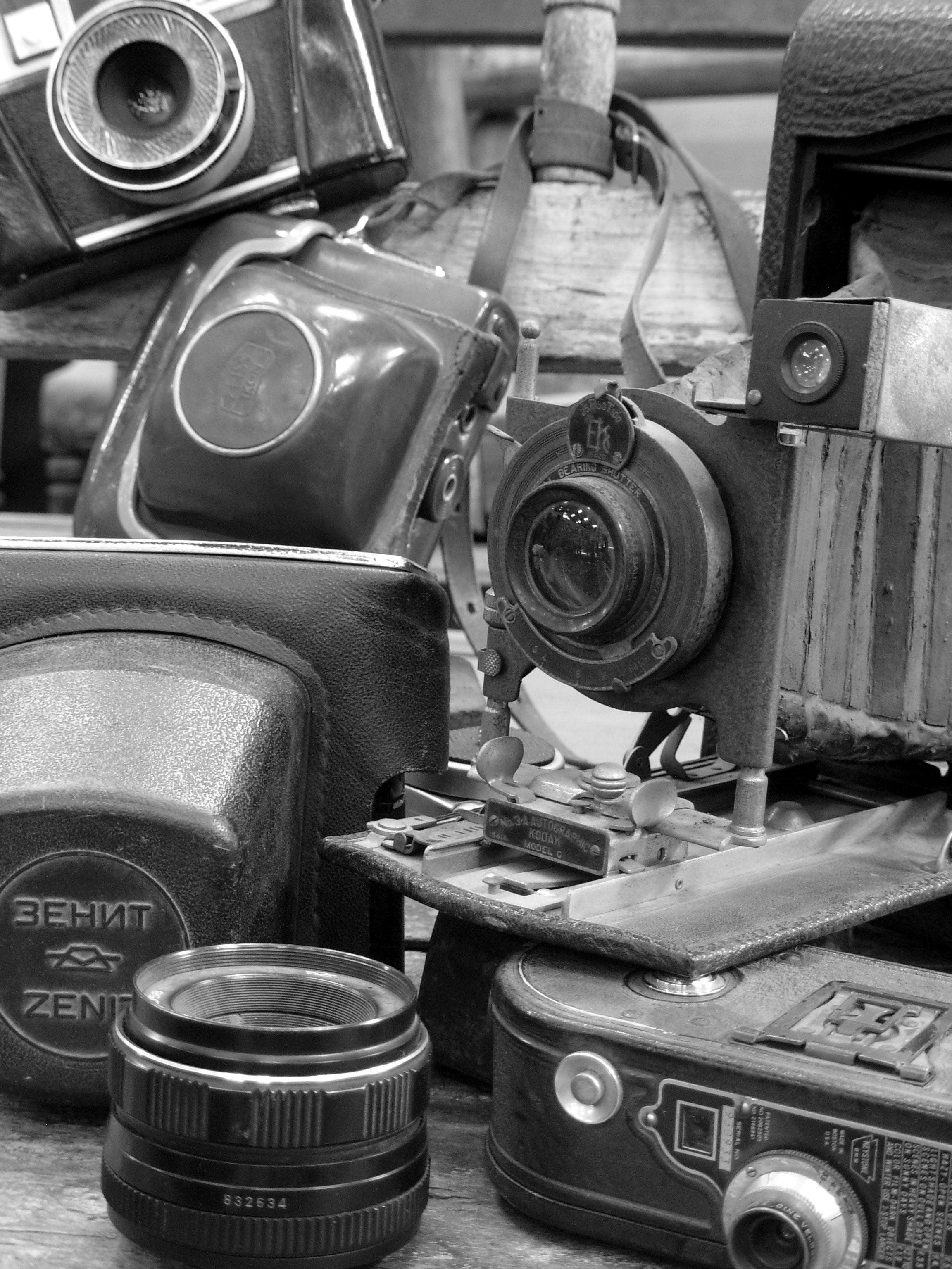 Máquina fotográfica, Kodak Autographic 3A, Model C, Sonia Carroza Antiguedades