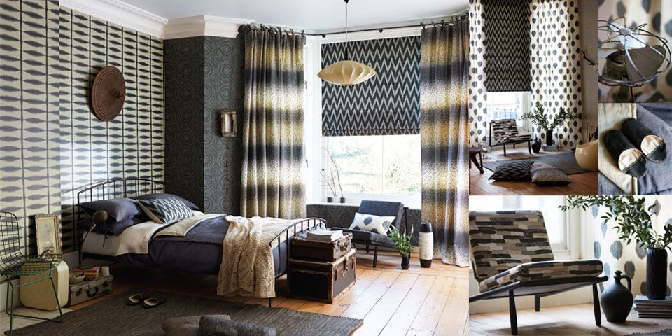 Wabi Sabi Wallpaper and Fabric. Wallpaper (source Scion) Wallpaper Australia / The Ivory Tower