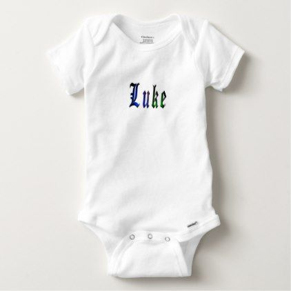Luke name logo baby onesie baby onesie luke name logo baby onesie diy cyo customize create your own personalize negle Gallery