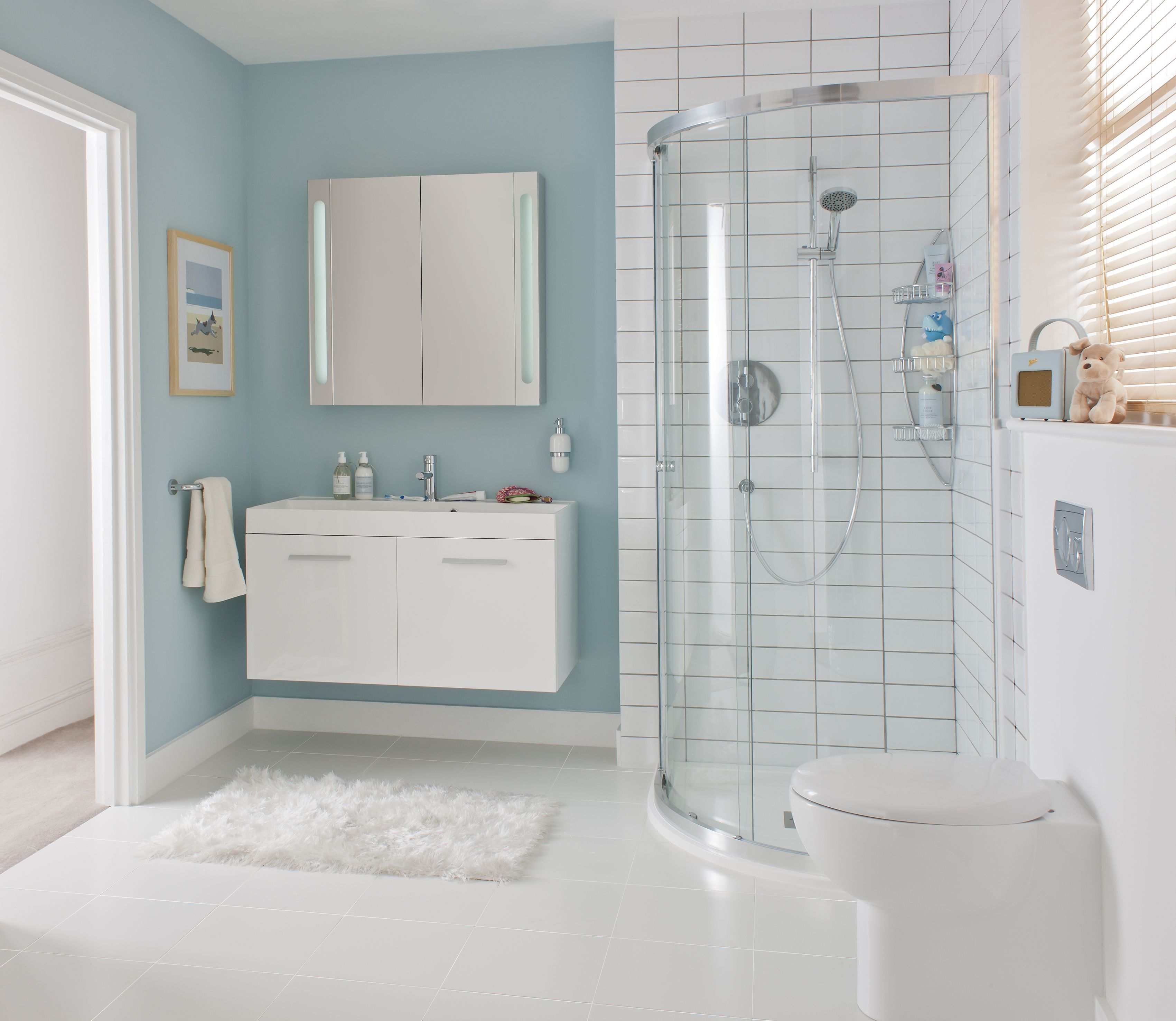 Glide II Bathroom Furniture Range from Crosswater