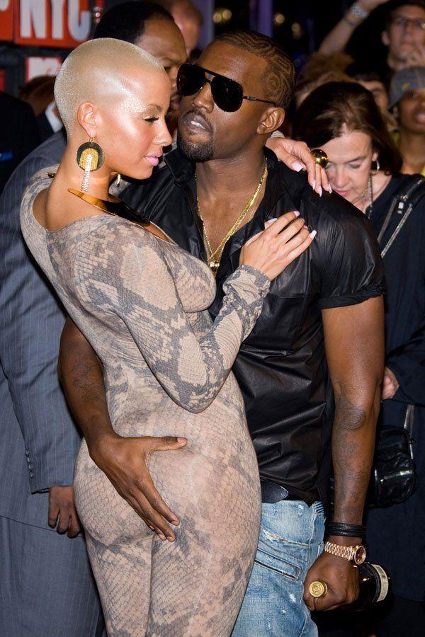 Amber Rose Amber Rose Kanye West Black Figure