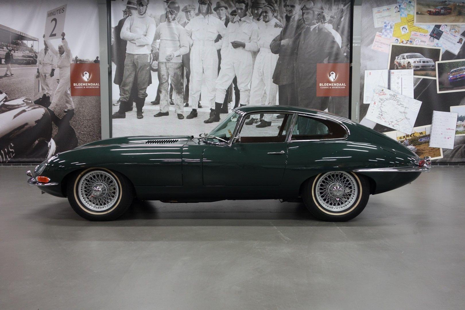 Jaguar e type series 1 3 8 coup british racing green concours winner