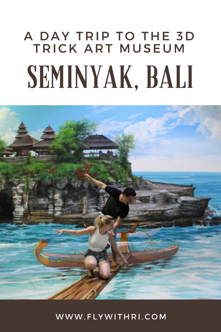 A Day Trip To The 3d Trick Art Museum In Seminyak Bali Www