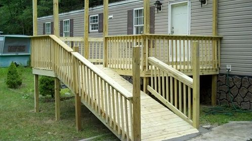 Porch ramp designs letter to the hep board of directors for Ada mobile homes