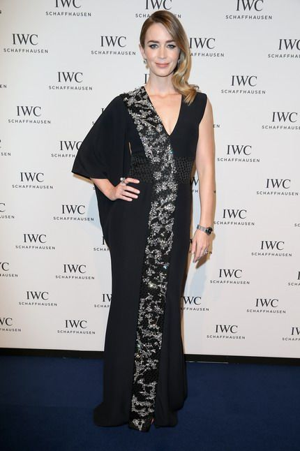 """Emily Blunt   * IWC  Schaffhausen celebrates  75th  Anniversary of the Portugieser with """"Journey to the stars"""""""