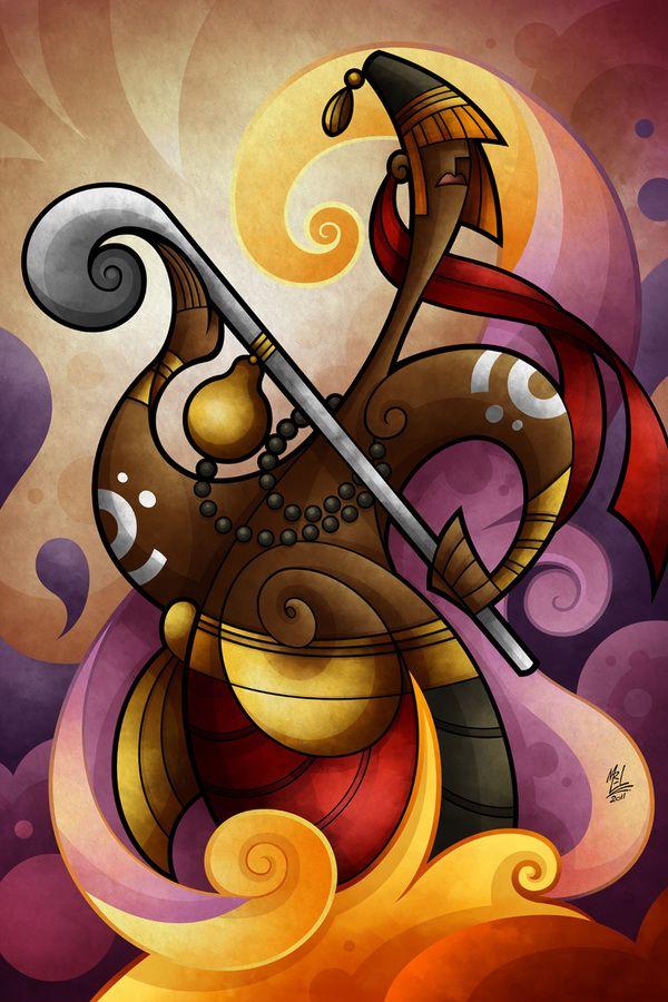 Na mitologia yoruba, orixás (yoruba Òrìsà; em espanhol Oricha; em inglês Orisha) são ancestrais divinizados africanos que correspondem a pontos de força da Natureza e os seus arquétipos estão relacionados às manifestações dessas forças.