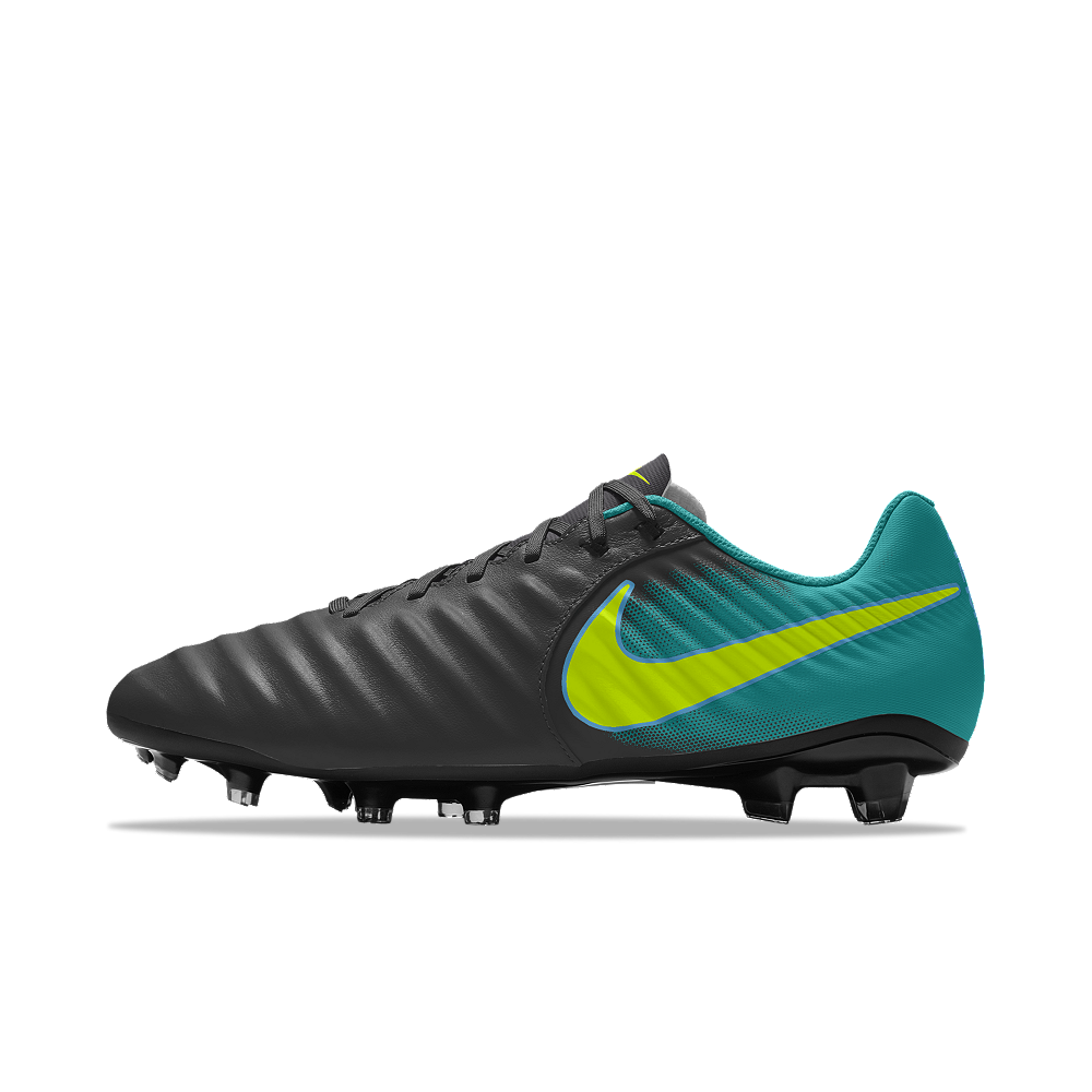 834b323da48db0 Nike Tiempo Ligera IV FG iD Men s Firm-Ground Soccer Cleats Size 10.5  (Green)