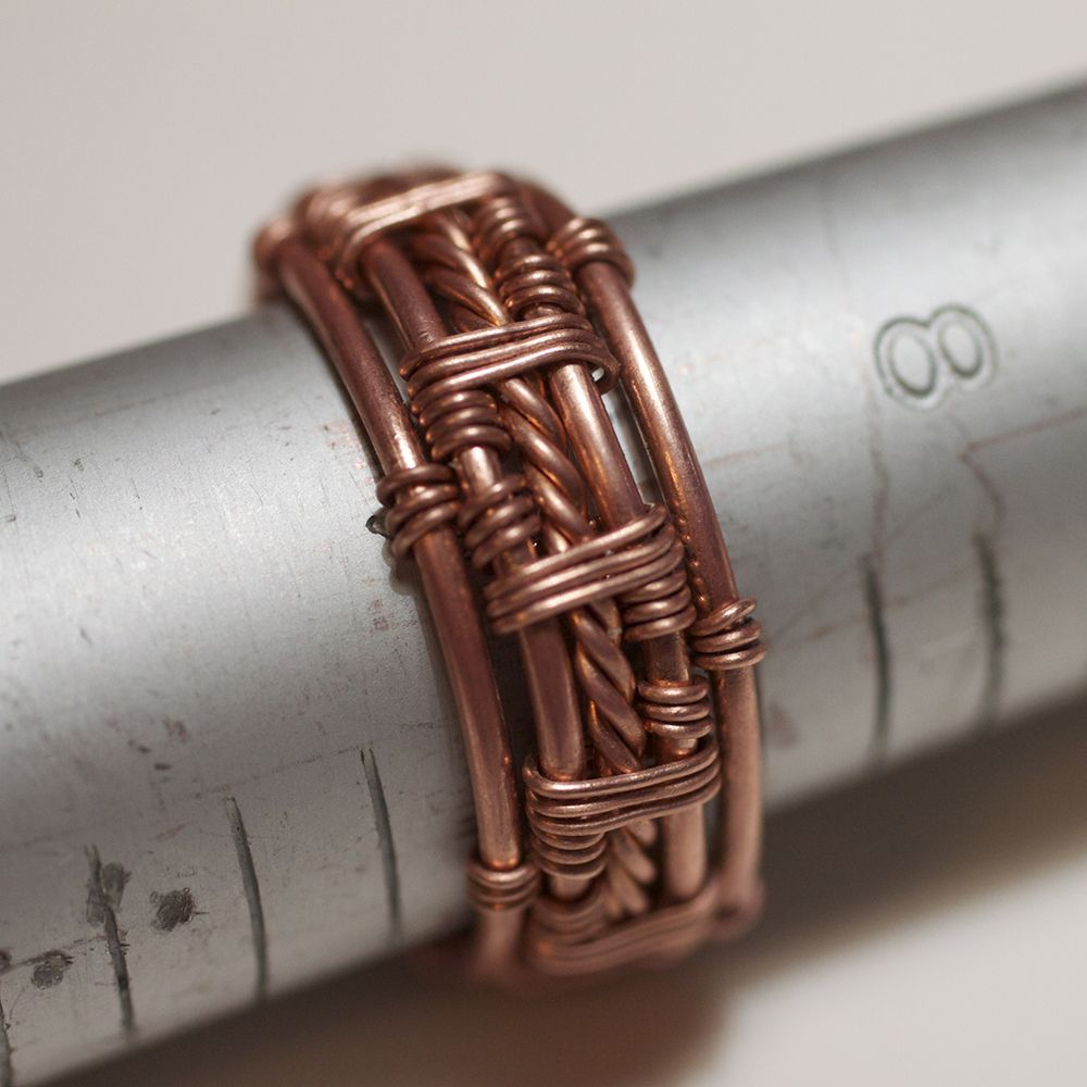 Twisted Wire Men Ring | JewelryLessons.com | Handmade Rings ...