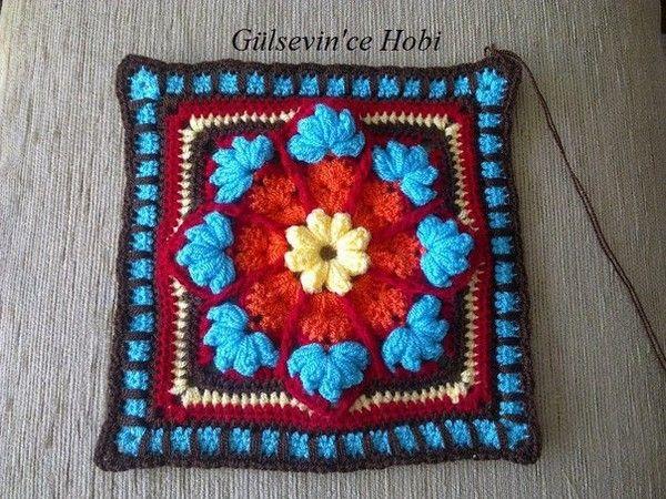 Crochet cuadrados .. Comentarios: LiveInternet - Russian servicios en línea Diaries
