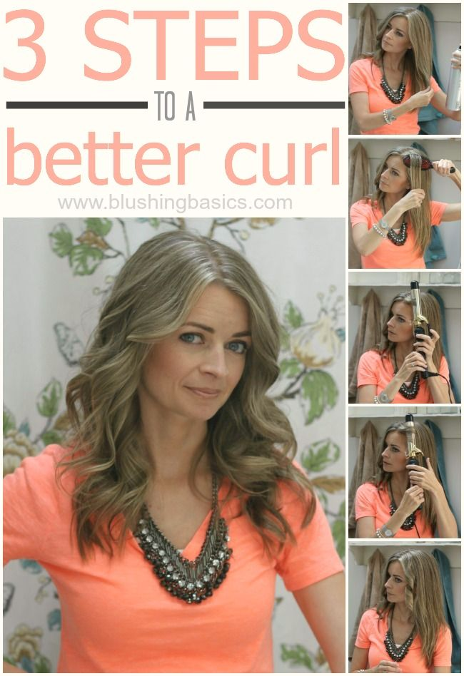 Three Steps To A Better Curl is part of How to curl your hair - A beauty blog providing you with the latest beauty, hair, nails and fashion tips trends and techniques  Makeup, cosmetics, step by step tutorials