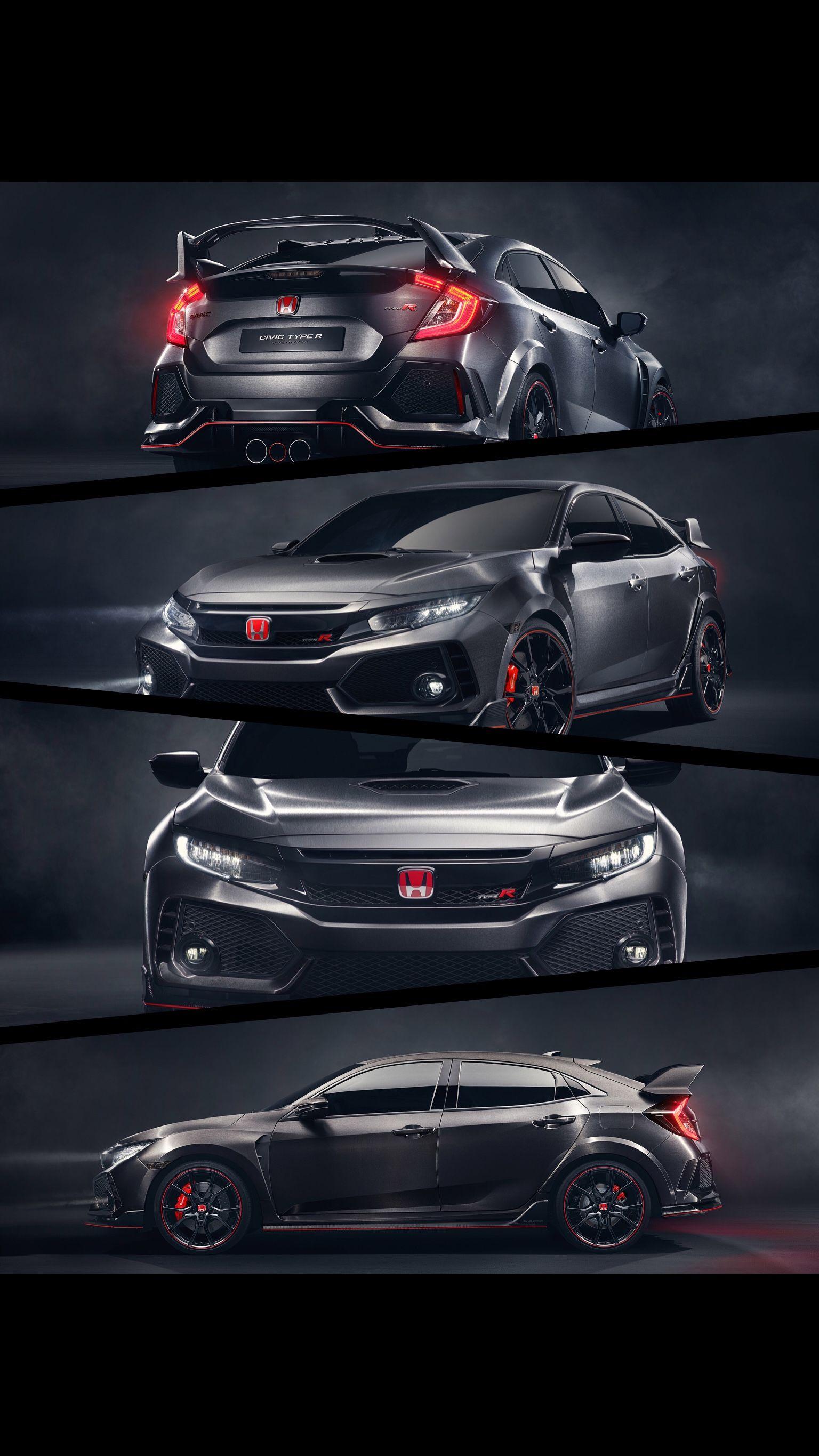 Black Honda Civic HD desktop wallpaper Widescreen High