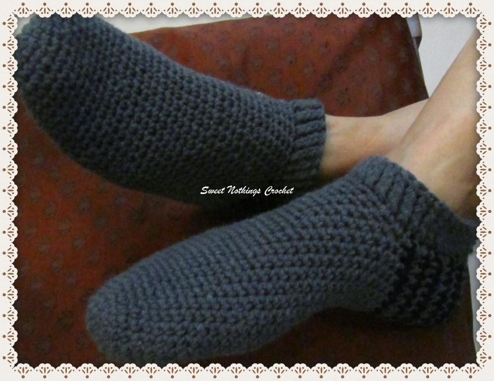 A REALLY SIMPLE PAIR OF SOCKS