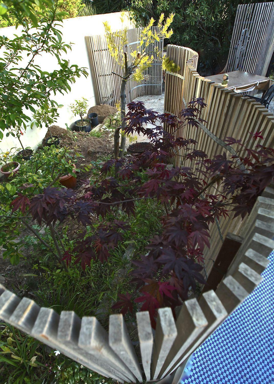 Claustra En Bois De Terrasse De Jardin Sur Mesure