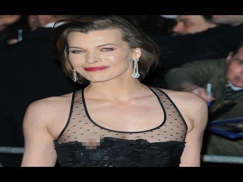 Milla jovovich nipple