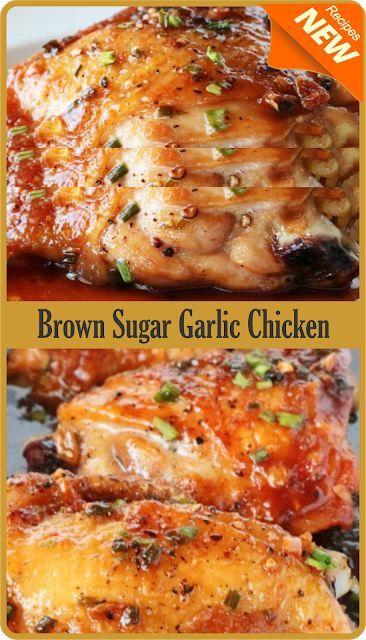 Gralic brown sugar chicken
